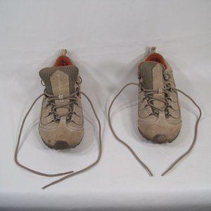 Columbia Omni Grip Tan Hiking Shoes Women's 6.5